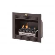 "HomeFires Built-in 24"" Firebox Vent Free Fireplace coals"