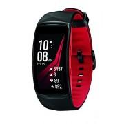 "Samsung Gear Fit2 Pro reloj inteligente Negro, Rojo SAMOLED 3.81 cm (1.5"") GPS (satélite) Relojes inteligentes (3.81 cm (1.5""), SAMOLED, Pantalla táctil, GPS (satélite), 34 g, Negro, Rojo)"