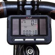 Futaba 23 Function Solar Power LCD Back light Bicycle Speedometer