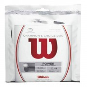 Wilson Champions Choice Duo, Silber Set Snaren 12,2m