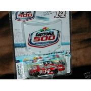 2009 Tony Stewart #14 Office Depot Old Spice Black Roof Chevy Impala SS 1/64 Scale Car & Daytona 500