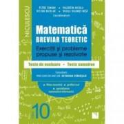 Matematica clasa a X-a. Breviar teoretic. Exercitii si probleme propuse si rezolvate. Filiera teoretica