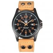 Horloge in Geel, Zwart, Groen of Bruin