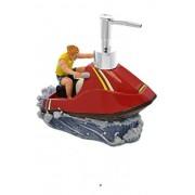 American Chateau Large 13oz Capacity Water Ski Figurine Sport Bathroom Soap Dispenser Lotion Pump