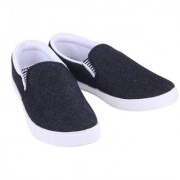 Super Men/Boy's Black-723 Casual Shoe Loafer Moccasins