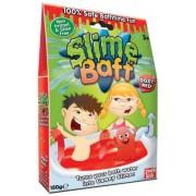 MolliToys Slime Baff, Förvandlar badvattnet till en slemmig gegga, 150 g (Röd)