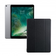 "Apple iPad 9.7"" (2018) 32GB Wifi with Folding Case (Black) - Space Gray (with 1 year official Apple Warranty)"
