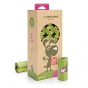 Earth Rated Bolsas Biodegradables para Popó, Caja con 21 Rollos