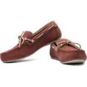 Clarks Marcos Edge Loafers For Men(Beige, Maroon)