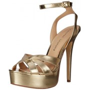 Chinese Laundry Women s Alyssa Metallic Platform Dress Sandal Gold 8.5 B(M) US