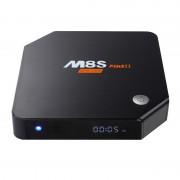 M8S Plus II 3/32 GB Octacore 4k en 2k Tv box Black
