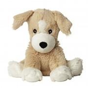 Merkloos Magnetron warmte knuffel hond/puppy 34 cm