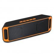Bluetooth hangszóró Mp3,Rádió,USB, TF/micro SD kártya,3,5 jack,telefon kihangosítás - 208