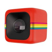 Polaroid Cube HD 1080p Lifestyle Action Videocamera, rood