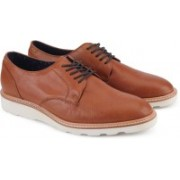 ALDO MUGGLI Corporate Casuals For Men(Brown)