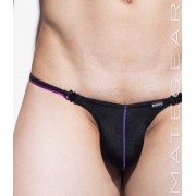 Mategear Nan Song XI Tapered Sides V Front Ultra Pouch Bikini Swimwear Black 1450903