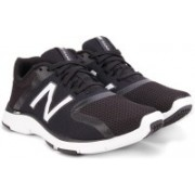 New Balance Training & Gym Shoes For Men(Black, White)