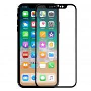 Folie sticla securizata 5D Full Glue iPhone X Negru