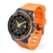 ZGPAX S99 Android 5.1 Smart Watch Telefono con ROM de 8GB - Amarillo + Oro