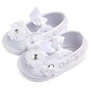 Pantofi fetite botez 6-12 luni