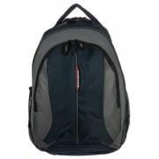 3 részes kék-szürke textil hátizsák Adventurer