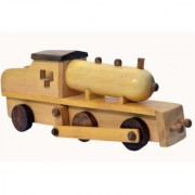 Wooden Train Engine Pull Along Wooden Toy
