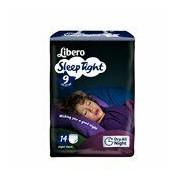 Fraldas sleep tight 22-37kg, 14 unidades - Libero