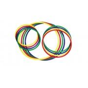Betzold Gymnastik-Reifen, 4 Stück, bunt