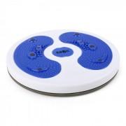 myTwist Body Twister Plataforma Aeróbica Ginástica Massagem Pés Azul