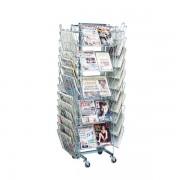 Edimeta Présentoir journaux Presam® 40 cases