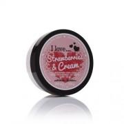 I Love Unt de corp nutritiva cu aroma de căpșuni cu crema (Strawberries & Cream Nourishing Body Butter) de (Strawberries & Cream Nourishing Body Butter) 200 ml