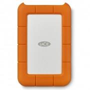 "HDD extern Lacie, 2TB, Rugged, 2.5"", USB3.0, argintiu si portocaliu"