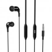 Casti audio cu microfon XO EP4, negre