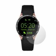 Set 4 Folii Protectie Ecran Acoperire Totala Adezive si Foarte Flexibile Invisible Skinz Ultra-Clear HD pentru Smartwatch Fitbit Blaze