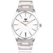Lorenz Original 1067A White Dial Mens Boys Analog Wrist Watch