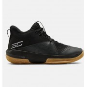 Under Armour Adult UA SC 3ZER0 IV Basketball Shoes Black 40