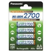 Acumulatori Panasonic R6/AA, 2700 mAh - blister 4 bucati