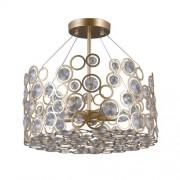 Italux Nardo lampa wisząca 5-punktowa złota PNPL-33064-5-CH.G