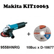 Makita KIT10063 - Set 9558HNRG + D-18677