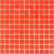 Maxwhite 35519 Mozaika skleněná červená 29,7x29,7cm sklo