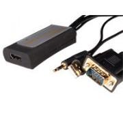 Convertidor Video Vga, Audio A Hdmi