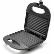 bhavani traders bt-138 Non-Stick Grill Sandwich Maker with Cool Touch Handle and Lid Lock Grill(Black)
