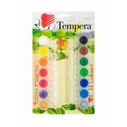Tempera készlet, tégelyes, ICO Süni, 14 különböző szín (TICTEM14)