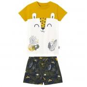 Petit Béguin Pyjama garçon manches courtes Rafiki - Taille - 3 ans