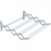 [neu.haus]® Fali ruhaakasztó kihúzható acél 18,5x11x60 cm 2 kg-ig