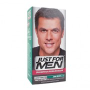 JUST FOR MEN SHAMPOO IN HAIR COLOUR (Dark Brown) 1 Application