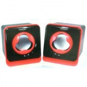 Somilex CS-04 Pair of Pc/Laptop/Mobile Portable Speakers With Smart Incredibble Hi-Fi Sound (Qty-2Pcs1 Pair)