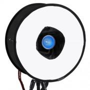 PULUZ 45cm Round Style Softbox Foldable Soft Flash Light Diffuser