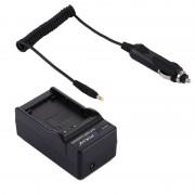 PULUZ 2-in-1 Digitale Camera batterij autolader voor de Canon LP-E12 batterij