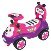 Baby Mix Odrážedlo Baby Mix Happy Bee pink